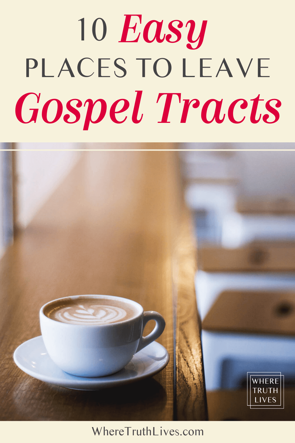 10 Easy Places To Leave Gospel Tracts