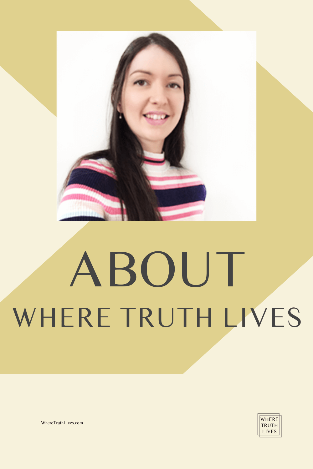 About Where Truth Lives - Pin Image