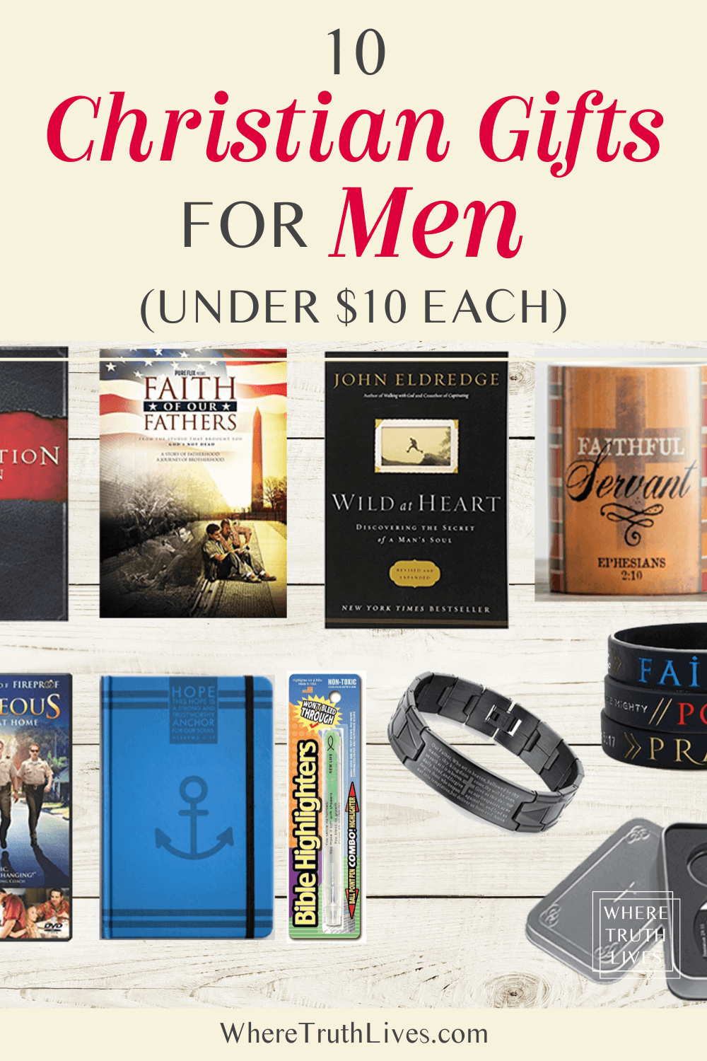 10 Christian Gifts for Men (Under $10 Each)