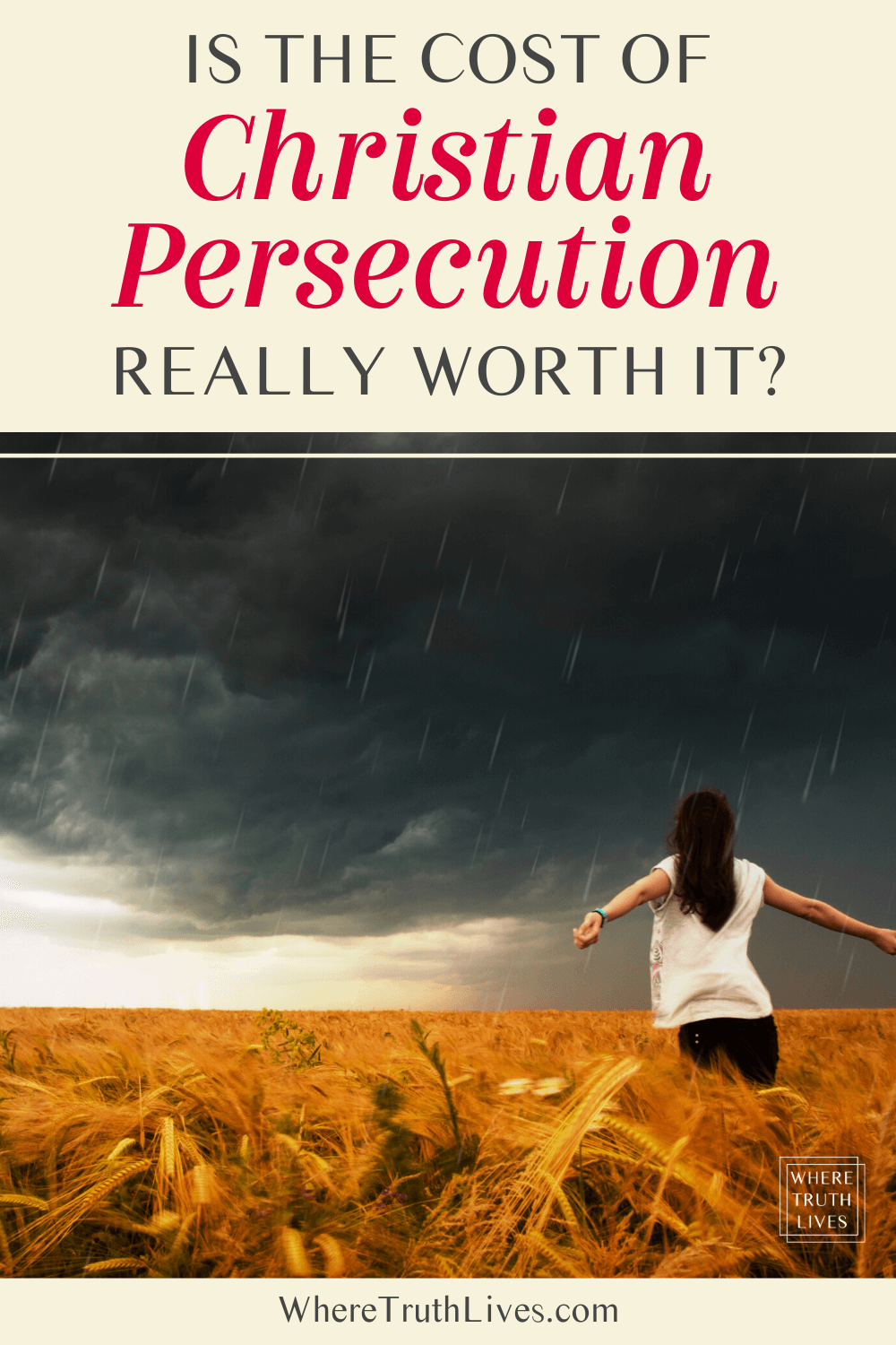 Is The Cost of Christian Persecution Really Worth It?